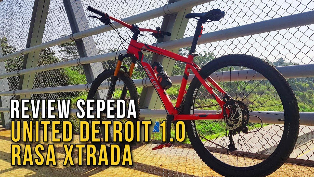 Upgrade Sepeda United Detroit 1 0 Rasa Polygon Xtrada Lengkap Dengan Harga Review 1 Youtube