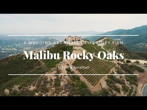 Malibu Rocky Oaks Wedding Video  |  Wedding Video Nicole & Jonathan  | LifeStory.Film