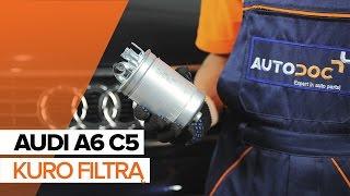 Vaizdo įrašų instrukcijos jūsų AUDI A6
