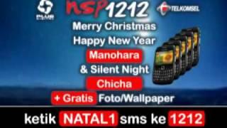 NSP1212 Telkomsel: Selamat Natal & Tahun Baru - Manohara & Silent Night - Chicha