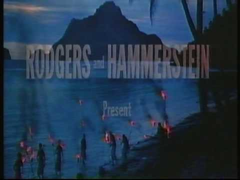CBS FOX 1984 opening South Pacific