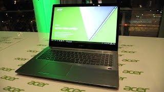 видео Acer Swift 3 SF315-41, обзор ноутбука на APU AMD Ryzen