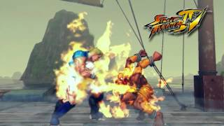 Streer Fighter 4 Attract modes (2008, Capcom)
