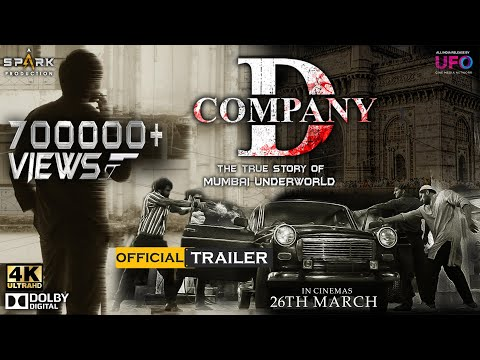 D Company Official Trailer Hindi   #RGV   Spark Productions   #DcompanyOfficialTrailer