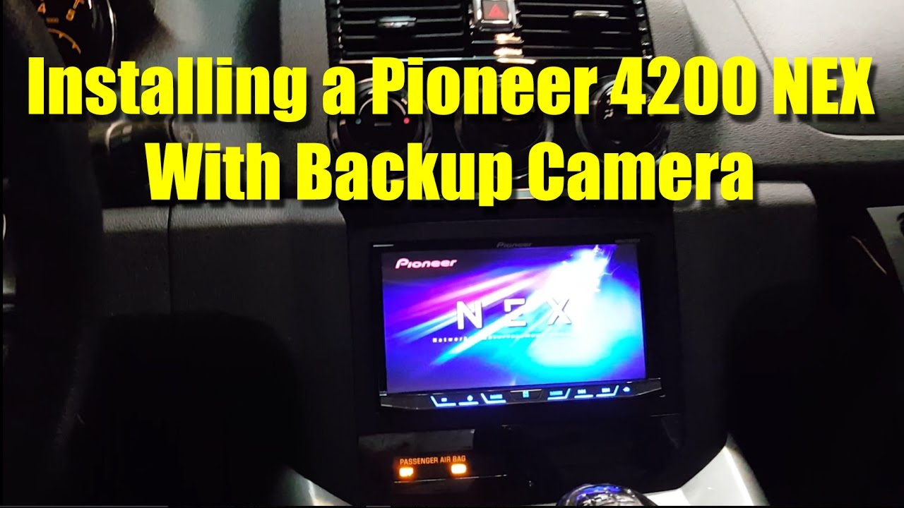 Pioneer 4200 NEX installation with backup camera - Saturn Sky ... on pioneer brake bypass relay wiring diagram, pioneer speaker wiring diagram, pontiac g6 radio wiring diagram, 2005 ford escape fog light wiring diagram, pioneer backup camera installation, pioneer car audio wiring diagram,