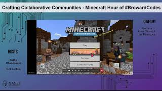 Crafting Collaborative Communities with Python - Minecraft Hour of #BrowardCodes - Part I