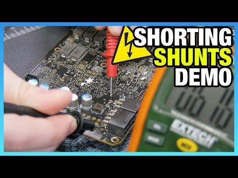2x Power Draw: GPU Shunt Shorting Mod (Titan V)