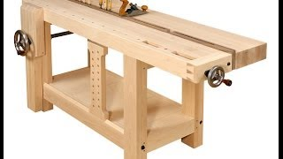 This workbench is based on a design by the 18th century French carpenter and author André Jacob Roubo. Guido Henn, the