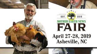 2019 MOTHER EARTH NEWS FAIR Asheville N.C.