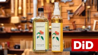 919. Preparaty: Olej nr. 1 do warsztatu - olej kameliowy z nasion Sinensis