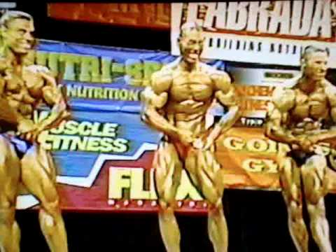 DAVID YEUNG - 1998' Cal State Bodybuilding. (Part 2) - YouTube
