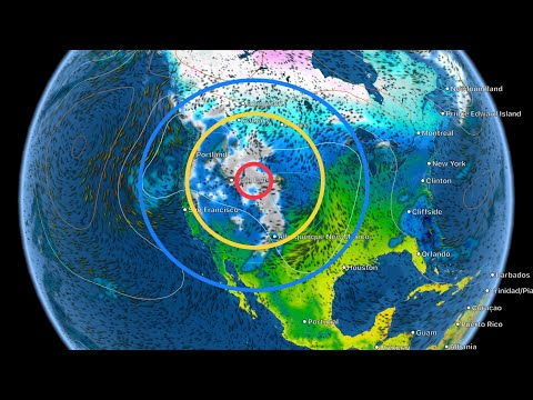 Global Weather / Earthquakes / HEAVY Snow Washington / Earthquake Swarm Philippines February 8, 2019