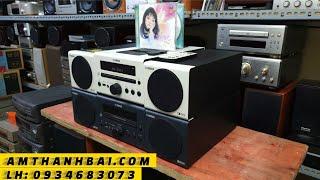 Dàn mini Nhật loa toàn dải YAMAHA CRX-040 nhỏ mà có võ - Yến Âm Thanh Bãi - Đĩa CD Gốc - 0934683073