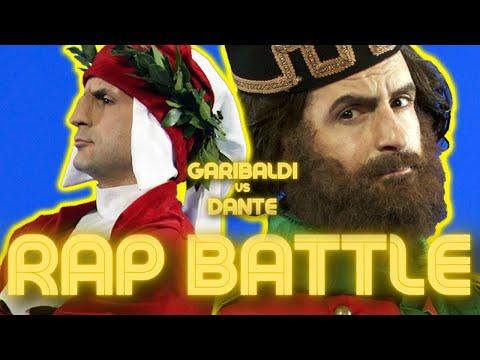 RAP BATTLE of Italy - GARIBALDI vs DANTE - Round One