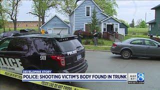 BCPD: Shooting victim's body found in trunk; 1 in custody