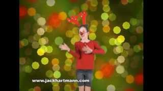 Reindeer Pokey | Holiday Song | Educational Songs | Kids Videos | YouTube for Kids | Jack Hartmann