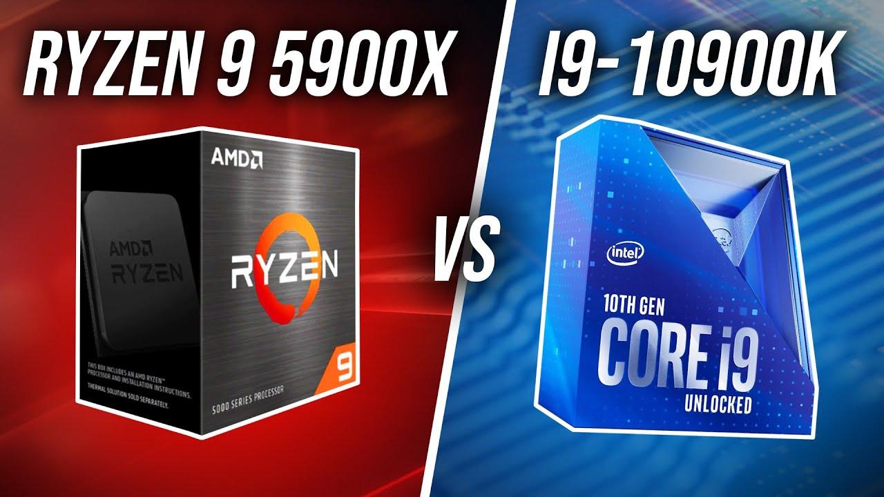 There S A New King Amd Ryzen 9 5900x Vs Intel I9 10900k Youtube