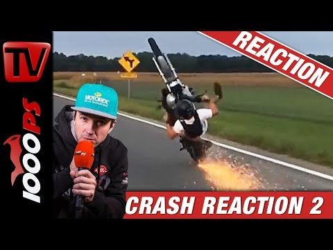 Motorradunfall Crash Compilation #2 | Reaktion mit NastyNils | No more Fails!