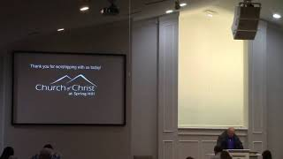 SpringHill Church of Christ Live Stream