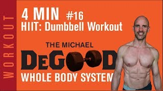 Workout: Dumbbell HIIT