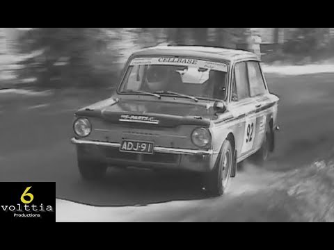Old Rally Cars Series #6 Hillman Imp