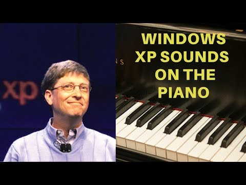 Microsoft Windows XP Sounds on the Piano
