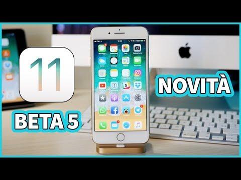 iOS 11 Beta 5: TUTTE le novità!