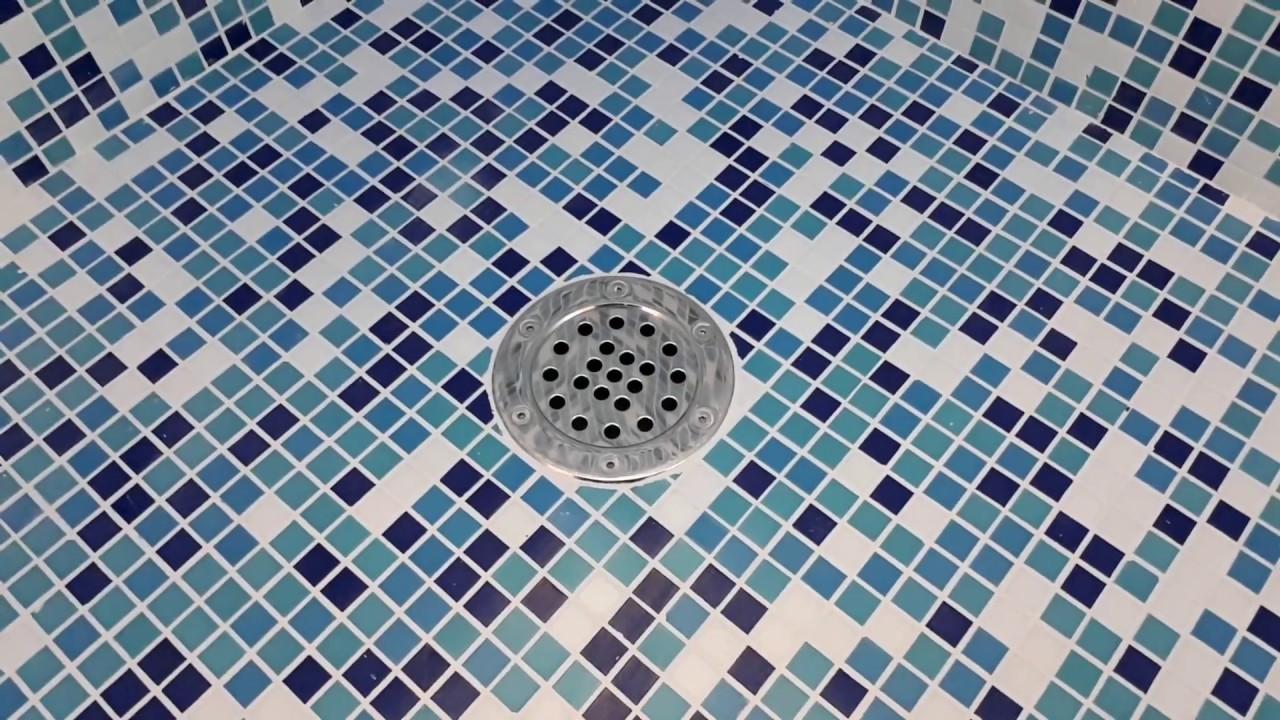 Донный слив - монтаж в бетонную чашу бассейна +7 (926) 224 ...