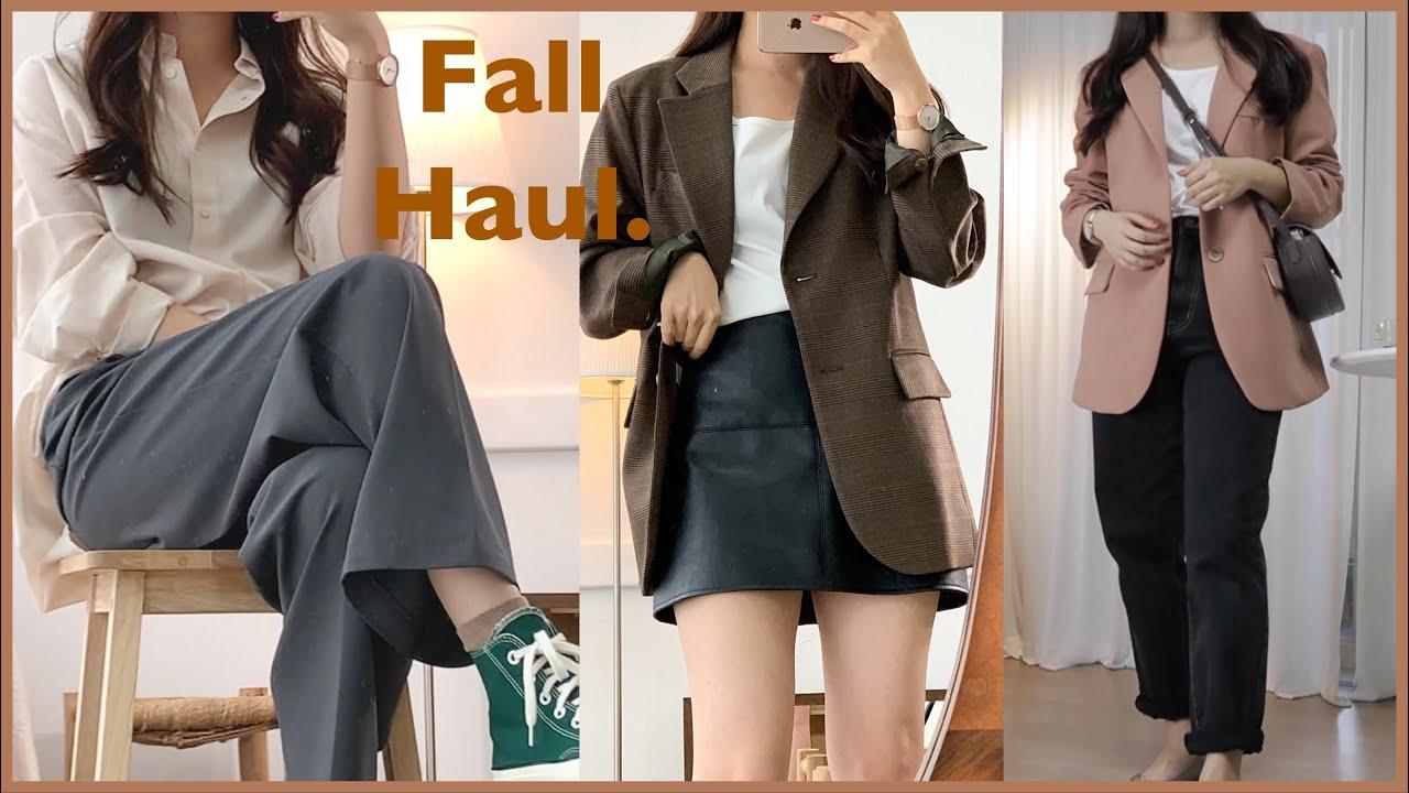 가을 기본템 추천🏷(울 자켓, 셔츠, 가디건, 슬랙스)|보면 후회 안함!|가을하울|어베인,가내스라,아바몰리|𝙢𝙞𝙣𝙜𝙤𝙞𝙣𝙜