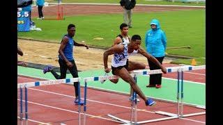 110MHAIES JUM - Championnats de France Cadets, Juniors DREUX , Juillet 2017