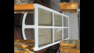 Самодельные деревянные окна (стеклопакеты)_©Jktu