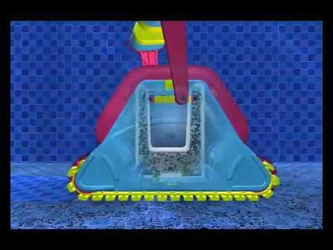 robot piscine dolphin 2001 de maytronics youtube. Black Bedroom Furniture Sets. Home Design Ideas