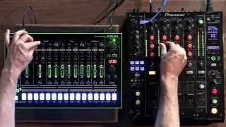 syncing drum machines with traktor