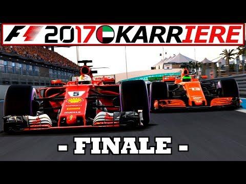 EPISCHES SAISONFINALE! (R) – F1 2017 KARRIERE Gameplay German #63   Lets Play Formel 1 2017 Deutsch