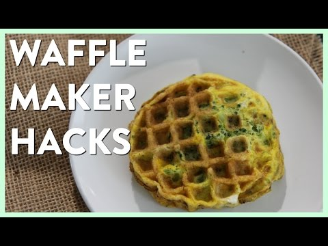 8 Things You Should be Making in your Waffle Iron Recipe
