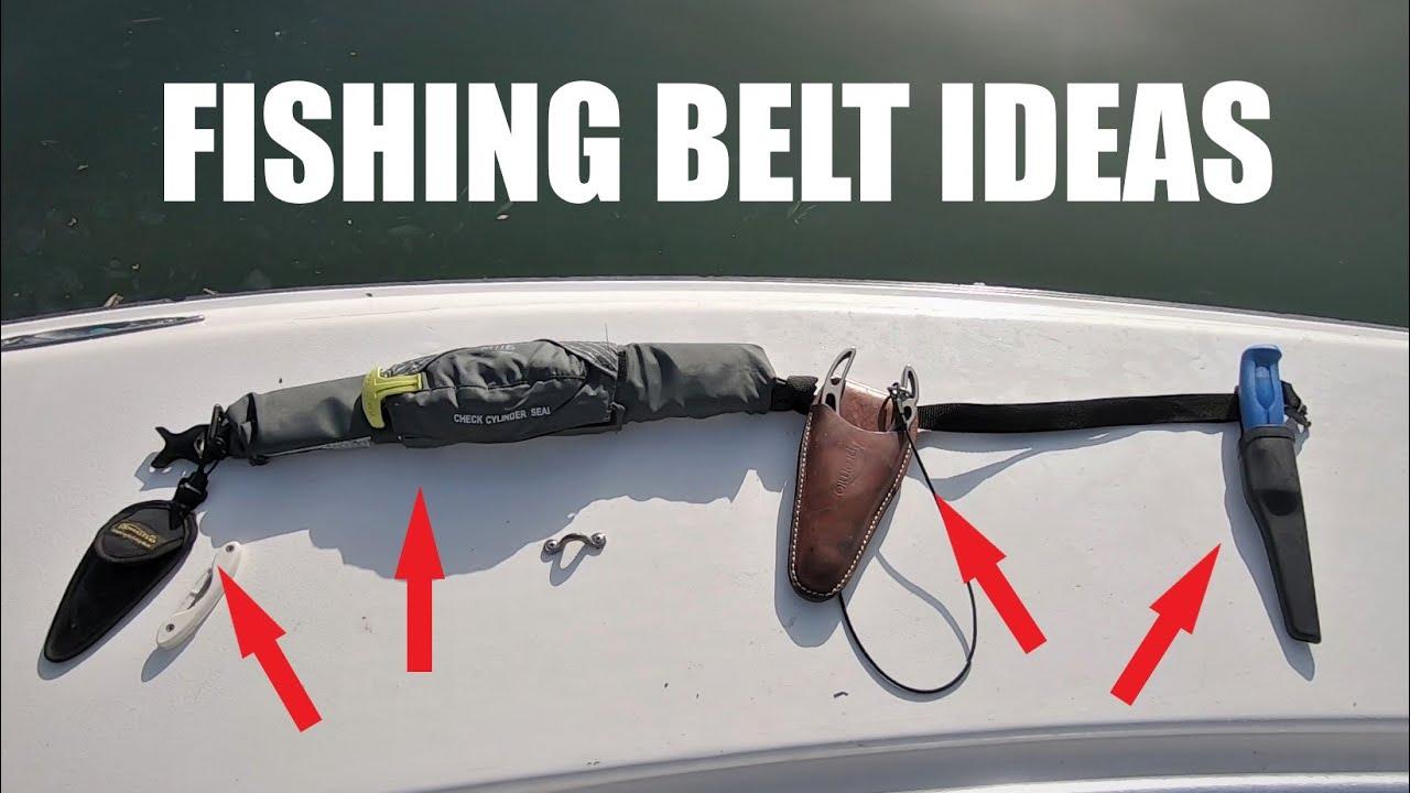My Fishing Utility Belt Setup