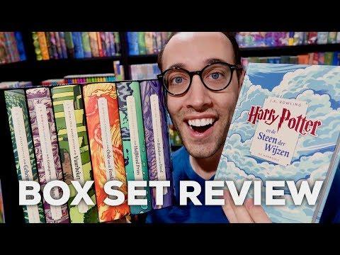 NEW HARRY POTTER DUTCH BOX SET REVIEW 20TH ANNIVERSARY