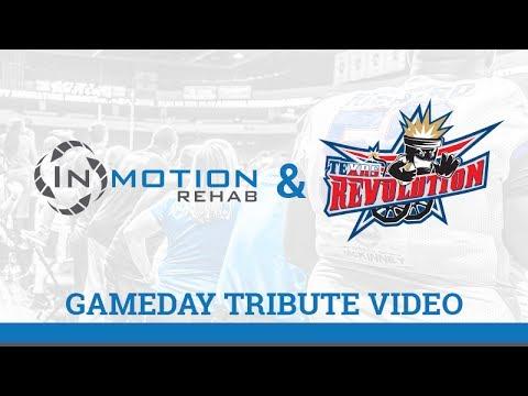 InMotion Rehab & The Texas Revolution football team