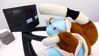 #Покемоны: Бластойз в мире Майнкрафт! Игробой Глеб: видео игры и игрушки.