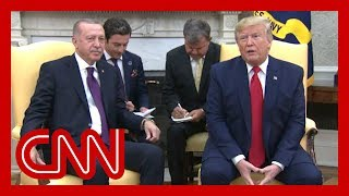Trump praises Erdogan during White House visit