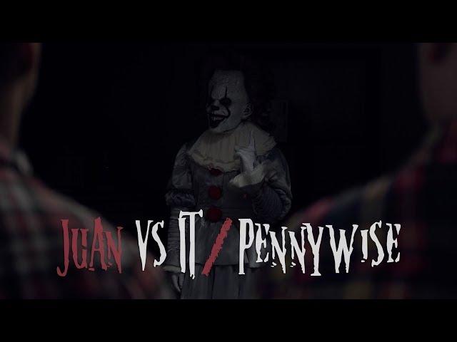 Juan vs IT - Pennywise | David Lopez