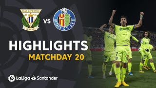 Highlights CD Leganes vs Getafe CF (0-3)