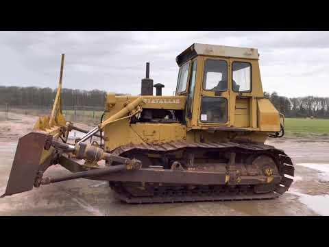 Used heavy machinery FIAT-ALLIS FD14C Bulldozer