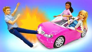 Видео про жизнь Барби— Синди СБИЛА ПАРНЯ?! —Видео скуклами для девочек
