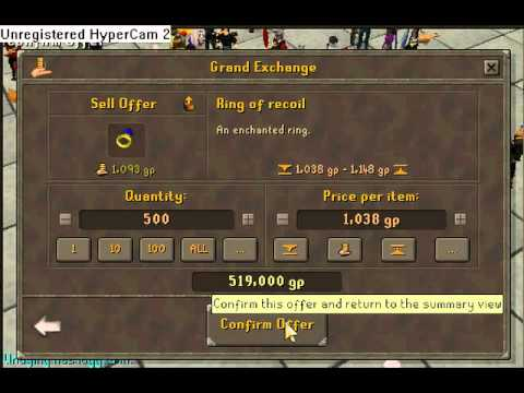 How to make alot of money from sapphire rings on Runescape