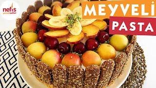 Meyveli Yaş Pasta - Pasta Tarifleri - Nefis Yemek Tarifleri