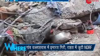 5W1H: 4 bodies recovered after building collapses in Gurugram, NDRF teams on site