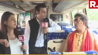 WATCH: Ravi Kishan's Exclusive Interview With Republic Bharat On R.Bharat Ki Bus
