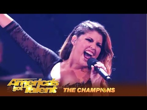 Cristina Ramos: Spain's Got Talent Winner STUNS America! | America's Got Talent: Champions