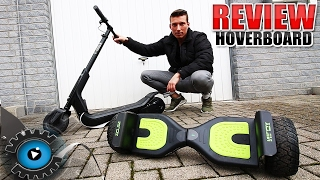 NILOX HOVERBOARD & NILOX DOC PRO SCOOTER REVIEW - TEST [DEUTSCH/GERMAN]